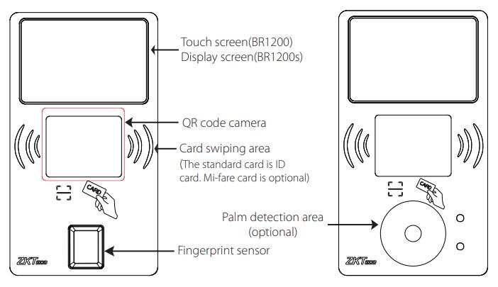 BR1200 терминал по qr коду